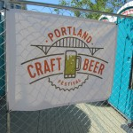 This was the first Portland Craft Beer Festival and was held a Fields Park in the Pearl.
